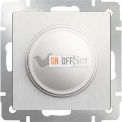 Светорегулятор поворотный Werkel до 600 Вт, перламутровый рифленый