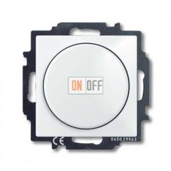 Светорегулятор Busch-Dimmer 60-400 Вт проходной ABB Basic 55, белый 6515-0-0842