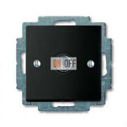 Розетка ТВ ABB Basic 55, шато-черный 1724-0-4313
