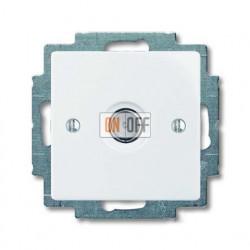 Розетка ТВ ABB Basic 55, белый 1724-0-4276