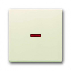 Переключатель одноклавишный с подсветкой ABB (слоновая кость) 1012-0-2194 - 1751-0-2813
