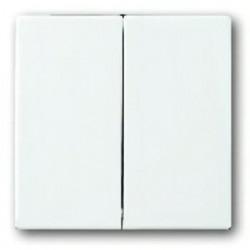 Выключатель двухклавишный, проходной (вкл/выкл с 2-х мест) 10 А / 250 В~ 1011-0-0928 - 1751-0-3076