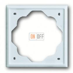Рамка одинарная ABB Impuls белый глянцевый 1754-0-4222