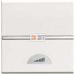 Светорегулятор клавишный 60-500Вт ZENIT (Белый) N2260.1 BL