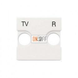 Розетка TV-R оконечная ZENIT (Белый) 8150.8 - N2250.8 BL