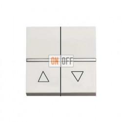 Выключатель жалюзи с фиксацией  ABB ZENIT (Белый) N2244.1 BL