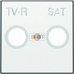 Розетка TV-R/SAT оконечная ABB Sky, белый 8151.7 - 8550.1 BL
