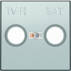 Розетка TV-R/SAT проходная ABB Sky, серебряный 8151.8 - 8550.1 PL