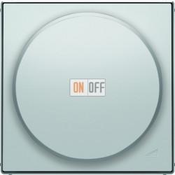 Светорегулятор поворотно-нажимной для LED (светодиодный), 4-100 Вт/ВА ABB Sky, серебряный 6512-0-0335 - 8560.2 PL