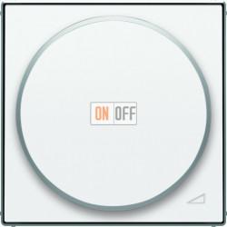Светорегулятор поворотно-нажимной для ламп накалив. и галоген., 200-1000 Вт/ВА ABB Sky, белый 6520-0-0227 - 8560.2 BL