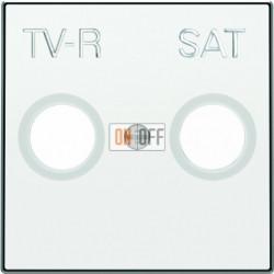 Розетка TV-R/SAT проходная ABB Sky, белый 8151.8 - 8550.1 BL