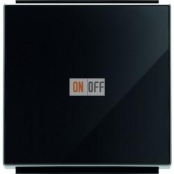 Выключатель одноклавишный из 3-х мест (перекрестный) ABB Sky, 10 А, черное стекло 8110 - 8501 CN