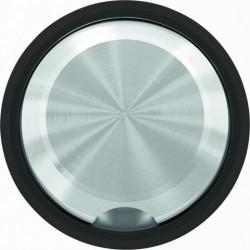 Кабельный вывод ABB Skymoon, черное стекло 8107 - 8607 CN