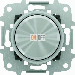 Светорегулятор поворотно-нажимной для LED (светодиодный), 4-100 Вт/ВА ABB Skymoon, хром 8660.2 CR