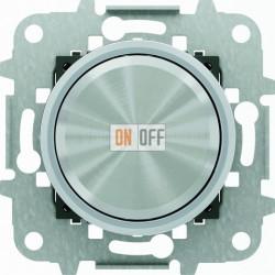 Светорегулятор универсальный поворотный 60 - 500 Вт, ABB Skymoon, хром 8660 CR