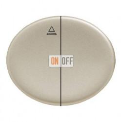 Кнопка для управления жалюзи с блокировкой одновременного включения 10А TACTO (Шампань) 8144 - 5544 CV