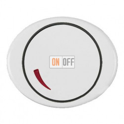 Cветорегулятор поворотный 60 - 600 Вт TACTO белый 6515-0-0840 - 5560 BL