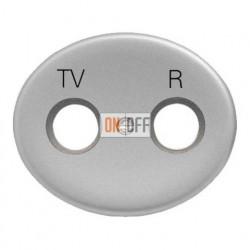 Розетка TV-R-SAT одиночная Tacto (Серебряный) 8151.3 - 5550 PL