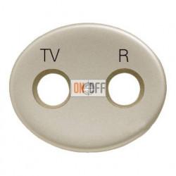 Розетка TV-R проходная Tacto (Шампань) 8150.8 - 5550 CV