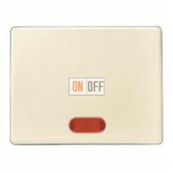 Выключатель одноклавишный с подсветкой, универс. (вкл/выкл с 2-х мест) 10 А / 250 В~ 14150002 - 3036 - 1675
