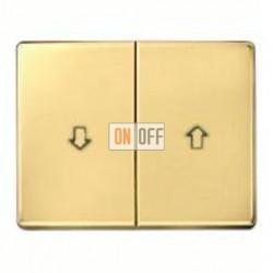 Выключатель управления жалюзи клавишный, 10 А / 250 В~ 14340102 - 303520