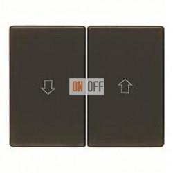 Выключатель управления жалюзи кнопочный, 10 А / 250 В~ 503520 - 14350101