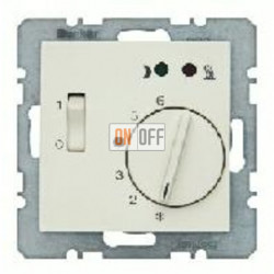 Термостат 230 В~ 10А с выносным датчиком для электрического подогрева пола механизм Eberle FRe 525 22 - 16708982