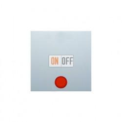 Выключатель одноклавишный с подсветкой, универс. (вкл/выкл с 2-х мест) 10 А / 250 В~, белый глянцевый 3036 - 16218989 - 1675