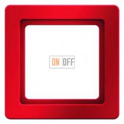 Рамка одинарная Berker Q.1 красная с эффектом бархата 10116062