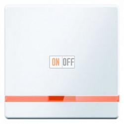 Выключатель одноклавишный с подсветкой, универс. (вкл/выкл с 2-х мест) 10 А / 250 В~ полярная белизна 3036 - 16216089 - 1675