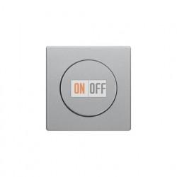 Светорегулятор поворотный 60-600 Вт. для ламп накаливания и галог.220В, алюминий с эффектом бархата 286010 - 11376084