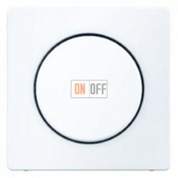 Светорегулятор поворотно-нажимной 60-400 Вт. для ламп накаливания и галог.220В, полярная белизна 283010 - 11376089