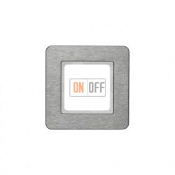 Рамка одинарная Berker Q.7 нержавеющая сталь 10116083
