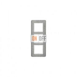 Рамка тройная Berker Q.7 для вертикальной установки нержавеющая сталь 10136083