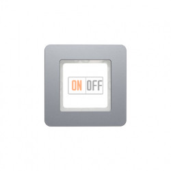 Рамка одинарная Berker Q.7 алюминий 10116074