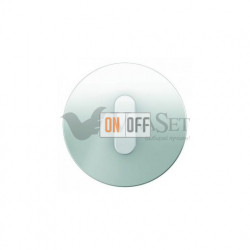 Поворотный выключатель на 2 направления Berker R.classic белое стекло 387500 - 10012083