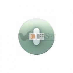 Поворотный выключатель перекрестный  Berker R.classic алюминий/полярная белизна 387700 - 10012074