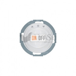 Поворотный выключатель жалюзи 10 А Berker R.classic полярная белизна 38112089