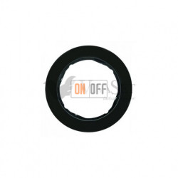 Рамка одинарная Berker R.classic черный глянцевый 10112045
