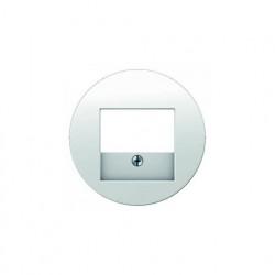 Розетка USB двойная, для зарядка, 1,4 А, вставка белая 260009 - 10382089