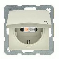Розетка с заземляющими контактами 16 А / 250 В~, с откидной крышкой 47448982