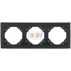 Рамка тройная  Efapel logus 90 серый 90930 TIS