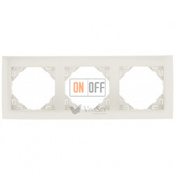 Рамка тройная  Efapel logus 90 лед 90930 TGE