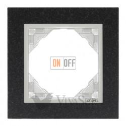 Рамка одинарная Efapel logus 90 гранит/лед 90910 TGG