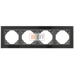 Рамка четверная Efapel logus 90 гранит/серый 90940 TGS