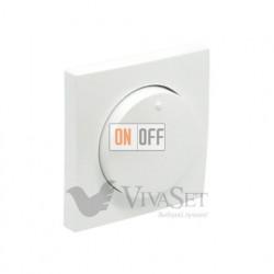 Поворотно-нажимной диммер для энергосберегающих и светодиодных ламп 7 - 110Вт Efapel logus 90 белый 21214 - 90721 TBR