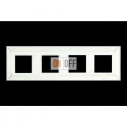 Рамка четверная, для горизонтального/вертикального монтажа FD01254BD