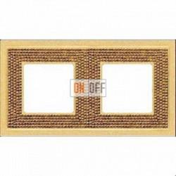 Crystal De Luxe Art Красное золото Рамка 2-я Real Gold FD01292OR