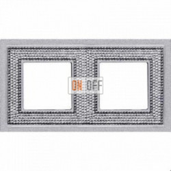 Crystal De Luxe Art Блестящий хром Рамка 2-я Bright Chrome FD01292CB