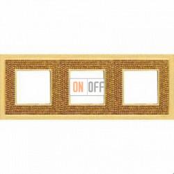 Crystal De Luxe Art Красное золото Рамка 3-я Real Gold FD01293OR